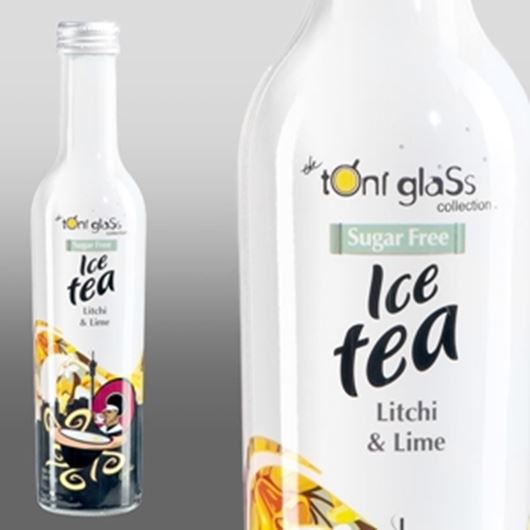 Picture of Litchi & Lime (Sugar Free range, 250ml x 12 glass bottles)