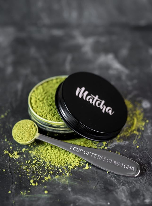 Picture of Matcha Tin & the Perfect Matcha Tea Spoon