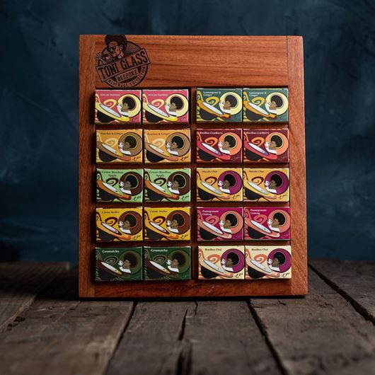 Picture of 20-Piece Gift Set in Rosewood Presenter