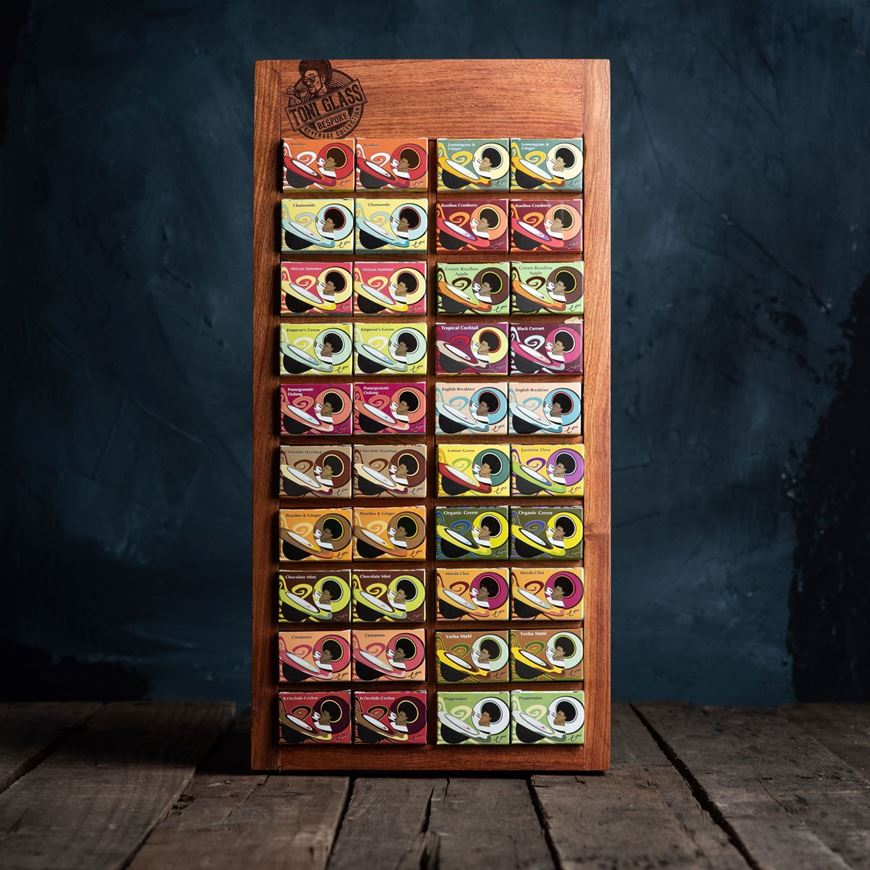 Picture of 40-Piece Gift Set in Rosewood Presenter