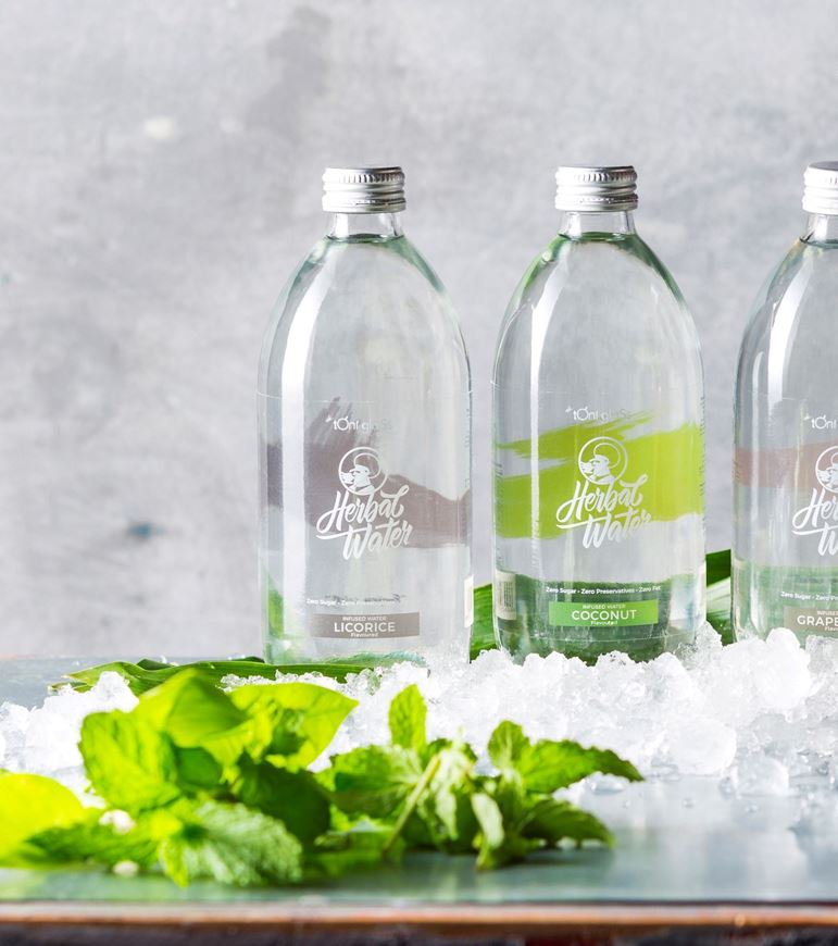 Picture of Herbal Waters (500ml x 6 glass bottles)