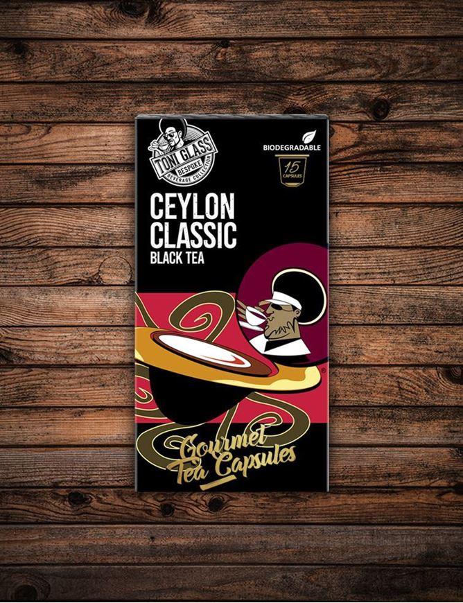 Picture of 15 piece Tea Capsules - Ceylon Classic