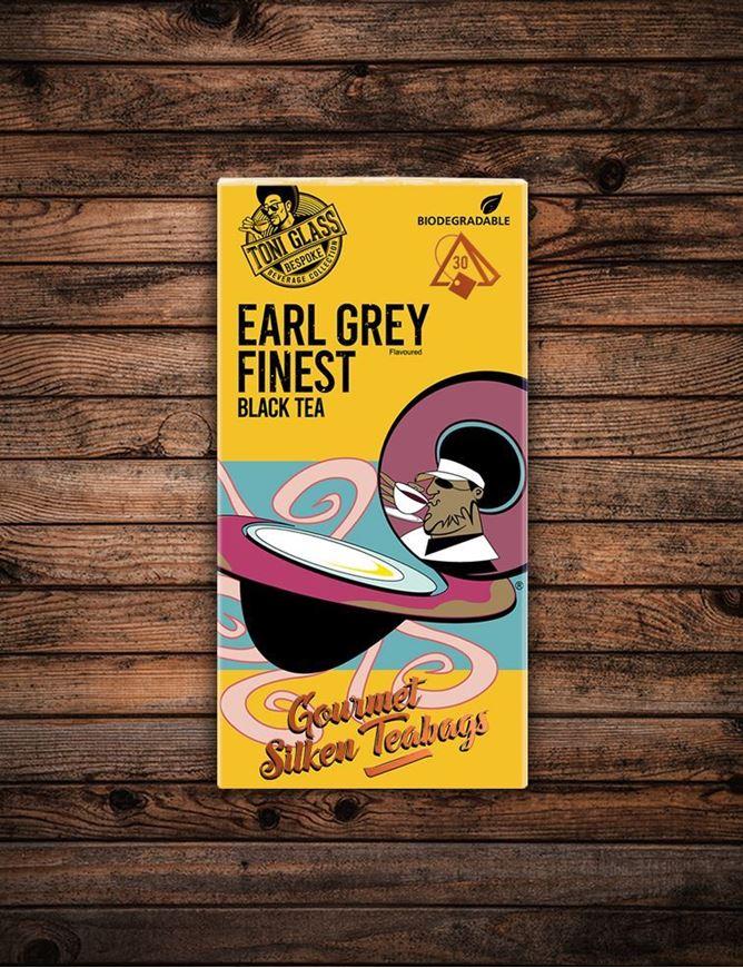 Picture of 30 piece Silken Bags - Earl Grey