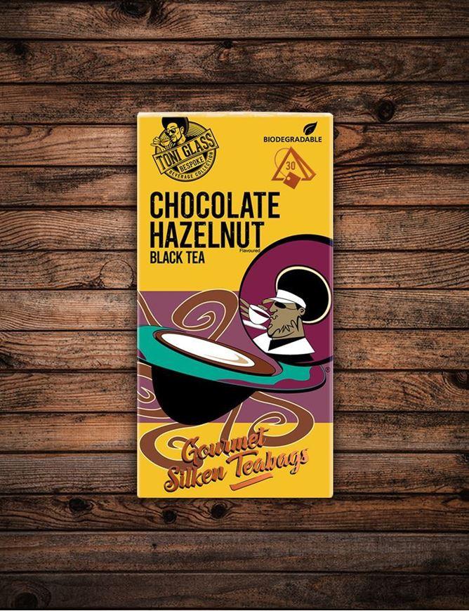 Picture of 30 piece Silken Bags - Chocolate Hazelnut