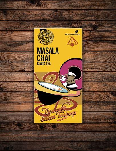 Picture of 30 piece Silken Bags - Masala Chai