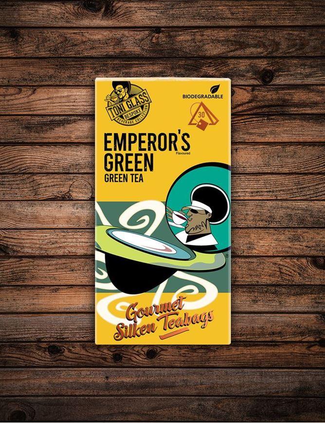 Picture of 30 piece Silken Bags - Emperor's Green