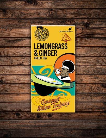 Picture of 30 piece Silken Bags - Lemongrass Ginger