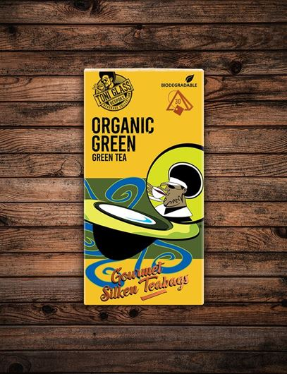 Picture of 30 piece Silken Bags - Organic Green