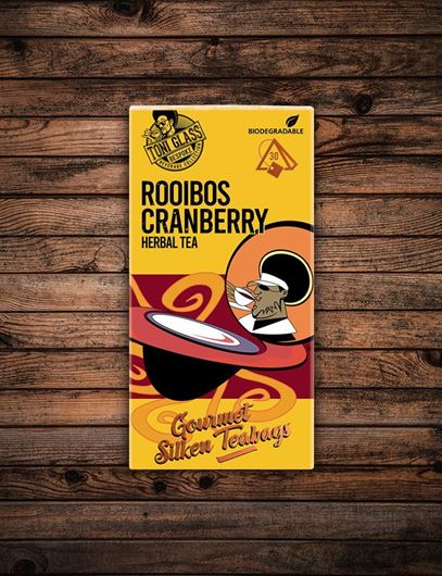 Picture of 30 piece Silken Bags - Rooibos Cranberry