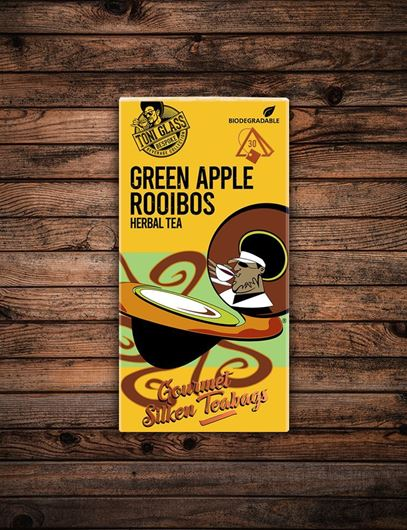 Picture of 30 piece Silken Bags - Apple Rooibos