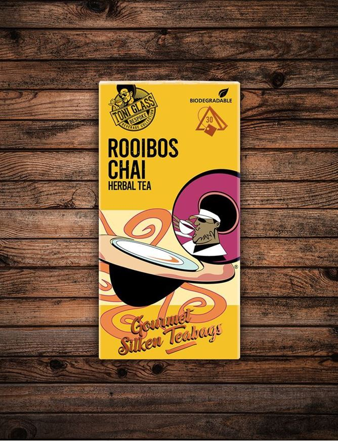 Picture of 30 piece Silken Bags - Rooibos Chai