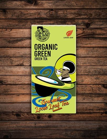 Picture of 80g Loose Leaf Tea - Organic Green