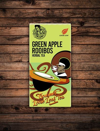 Picture of 80g Loose Leaf Tea - Green Apple Rooibos